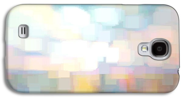 Recently Sold -  - Abstract Digital Digital Art Galaxy S4 Cases - Seascape Abstracted Galaxy S4 Case by Karen Francis