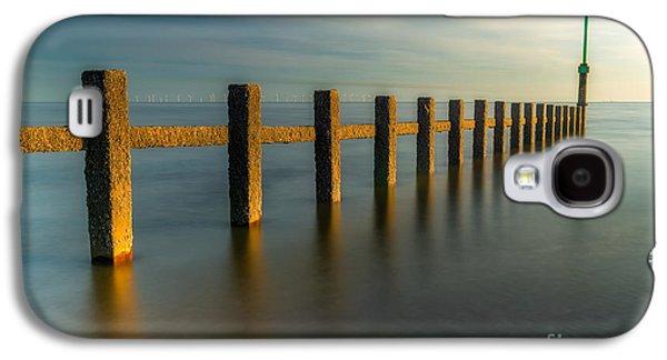 North Sea Galaxy S4 Cases - Seascape Wales Galaxy S4 Case by Adrian Evans