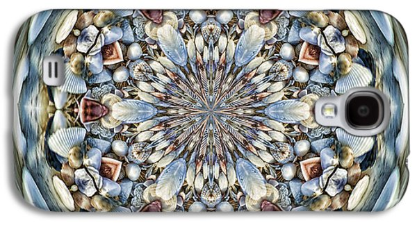 Seashell Digital Art Galaxy S4 Cases - SeaShell Orb Galaxy S4 Case by Cindi Ressler