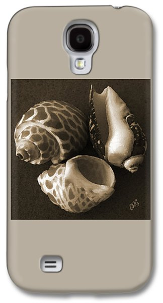 Seashell Digital Art Galaxy S4 Cases - Seashells Spectacular No 1 Galaxy S4 Case by Ben and Raisa Gertsberg