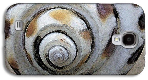 Round Galaxy S4 Cases - Seashells Spectacular No 2 Galaxy S4 Case by Ben and Raisa Gertsberg