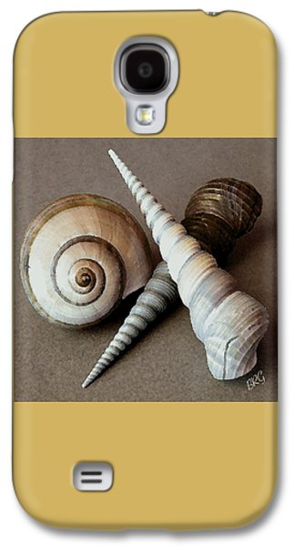 Seaside Galaxy S4 Cases - Seashells Spectacular No 24 Galaxy S4 Case by Ben and Raisa Gertsberg