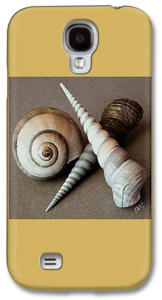 Seashell Digital Art Galaxy S4 Cases - Seashells Spectacular No 24 Galaxy S4 Case by Ben and Raisa Gertsberg