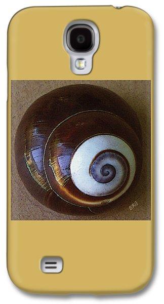 Seashell Digital Art Galaxy S4 Cases - Seashells Spectacular No 26 Galaxy S4 Case by Ben and Raisa Gertsberg