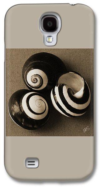 Seashell Digital Art Galaxy S4 Cases - Seashells Spectacular No 27 Galaxy S4 Case by Ben and Raisa Gertsberg