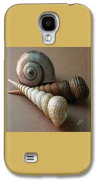 Seashell Digital Art Galaxy S4 Cases - Seashells Spectacular No 29  Galaxy S4 Case by Ben and Raisa Gertsberg