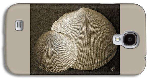 Seashell Digital Art Galaxy S4 Cases - Seashells Spectacular No 8 Galaxy S4 Case by Ben and Raisa Gertsberg