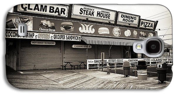 Seaside Heights Galaxy S4 Cases - Seaside Clam Bar Galaxy S4 Case by John Rizzuto