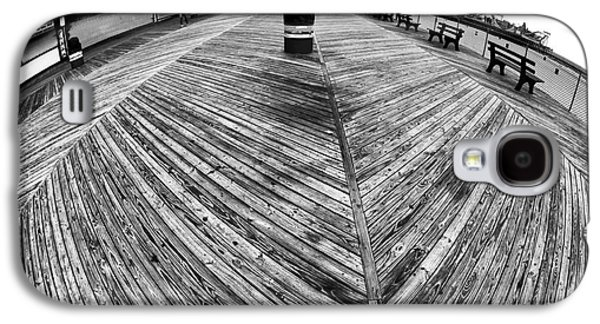 Seaside Heights Photographs Galaxy S4 Cases - Seaside Distorted Galaxy S4 Case by John Rizzuto