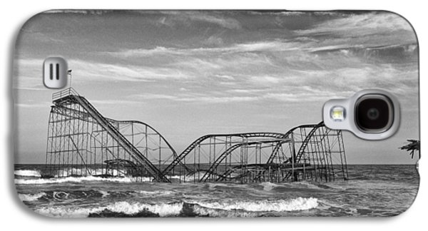 Seaside Heights - Jet Star Roller Coaster Galaxy S4 Case by Niday Picture Library