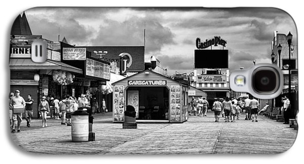 Seaside Heights Photographs Galaxy S4 Cases - Seaside Heights Boardwalk infrared Galaxy S4 Case by John Rizzuto