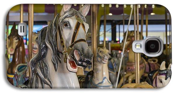 Seaside Heights Casino Carousel  Galaxy S4 Case by Susan Candelario