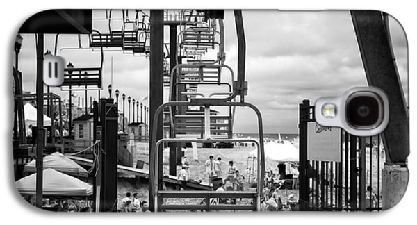 Seaside Heights Galaxy S4 Cases - Seaside Heights Chair Lift infrared Galaxy S4 Case by John Rizzuto