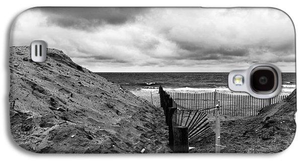 Seaside Heights Galaxy S4 Cases - Seaside Heights No Boardwalk mono Galaxy S4 Case by John Rizzuto