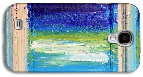 Anna Villarreal Garbis Galaxy S4 Cases - Seaside I Galaxy S4 Case by Anna Villarreal Garbis