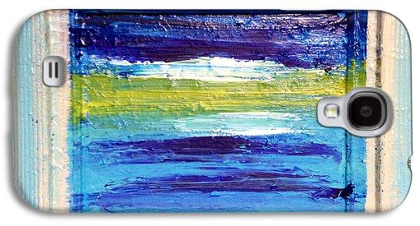 Anna Villarreal Garbis Galaxy S4 Cases - Seaside II Galaxy S4 Case by Anna Villarreal Garbis