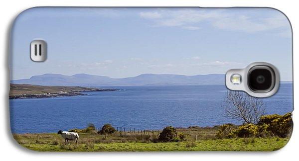 Sheep Digital Art Galaxy S4 Cases - Seaside in Donegal Ireland Galaxy S4 Case by Bill Cannon