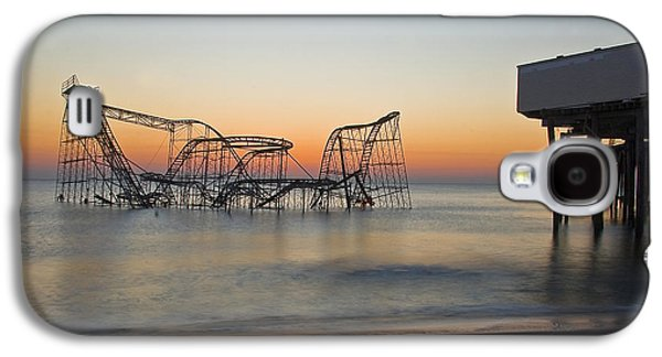 Recently Sold -  - Jet Star Galaxy S4 Cases - Seaside Jet Star Pier Galaxy S4 Case by Rob Lybeck