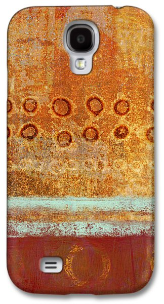 Abstract Movement Mixed Media Galaxy S4 Cases - Seasonal Shift Galaxy S4 Case by Carol Leigh