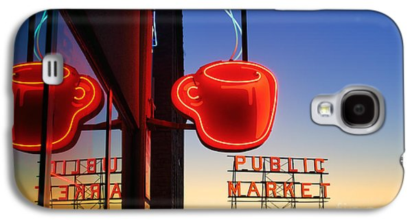Seattle Coffee Galaxy S4 Case by Inge Johnsson