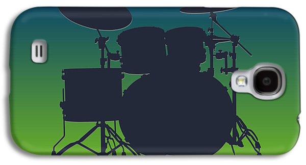 Seattle Seahawks Drum Set Galaxy S4 Case by Joe Hamilton