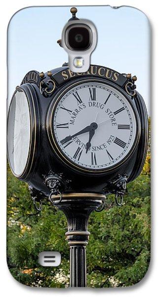 Susan Candelario Galaxy S4 Cases - Secaucus Clock Marras Drugs Galaxy S4 Case by Susan Candelario