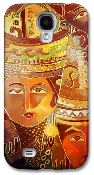 Corporate Task Art Force Galaxy S4 Cases - Second Face Galaxy S4 Case by Corporate Art Task Force