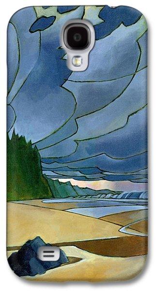 Beach Landscape Galaxy S4 Cases - Secret Beach Galaxy S4 Case by Douglas Simonson