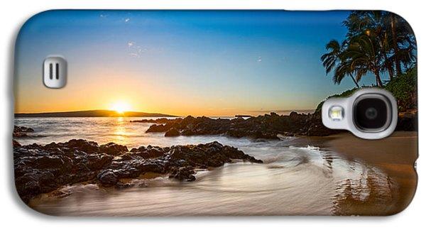 Beach Sunsets Galaxy S4 Cases - Secret Beach Sunset Galaxy S4 Case by Jamie Pham