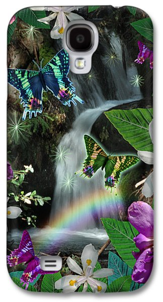 Fantasy Photographs Galaxy S4 Cases - Secret Butterfly Galaxy S4 Case by Alixandra Mullins