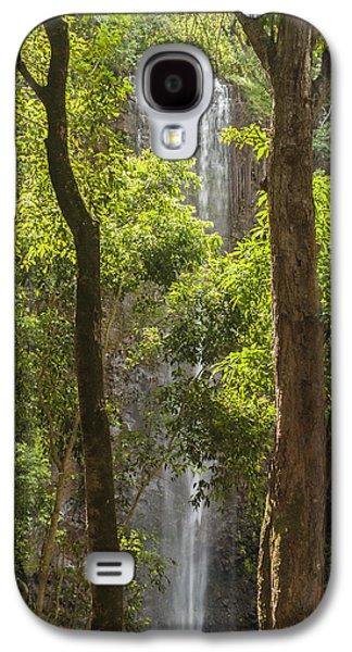 Landscapes Photographs Galaxy S4 Cases - Secret Falls 3 - Kauai Hawaii Galaxy S4 Case by Brian Harig
