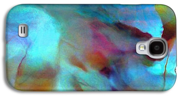 Abstract Canvas Galaxy S4 Cases - Secret Garden - Abstract Art Galaxy S4 Case by Jaison Cianelli