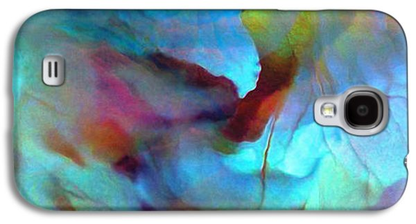 Print On Canvas Galaxy S4 Cases - Secret Garden - Abstract Art Galaxy S4 Case by Jaison Cianelli