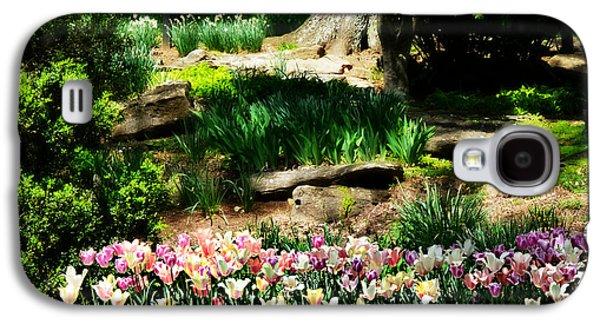 Cheekwood Galaxy S4 Cases - Secret Garden Galaxy S4 Case by Ally  White