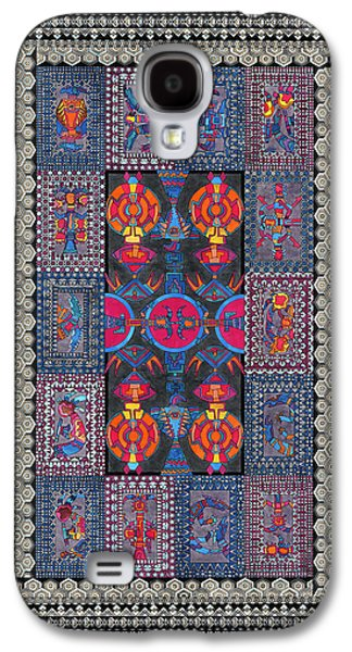 Americans Tapestries - Textiles Galaxy S4 Cases - Sectional Order Galaxy S4 Case by Lawrence Chvotzkin