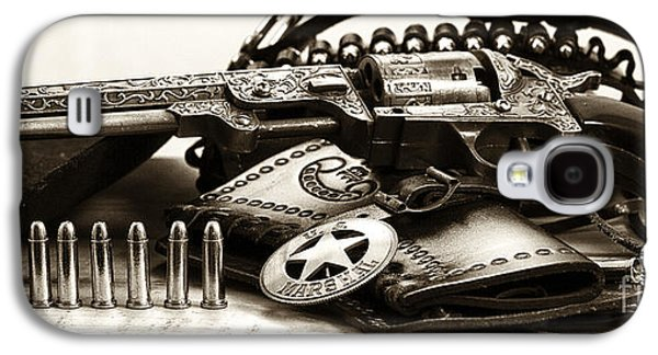 Old Western Photos Galaxy S4 Cases - Security Galaxy S4 Case by John Rizzuto