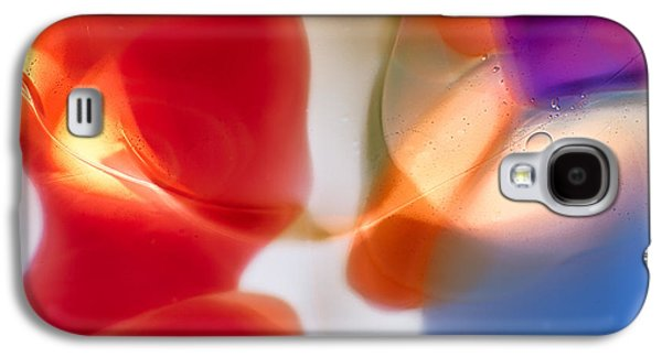 Bright Colors Glass Art Galaxy S4 Cases - Seduction Galaxy S4 Case by Omaste Witkowski