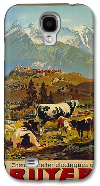 Switzerland Drawings Galaxy S4 Cases - See Switzerland 1906 Galaxy S4 Case by Mountain Dreams