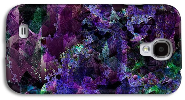Nature Abstract Tapestries - Textiles Galaxy S4 Cases - See Through Galaxy S4 Case by Claire Masters