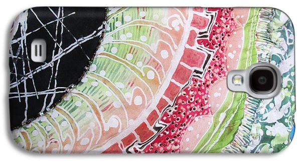 Light Tapestries - Textiles Galaxy S4 Cases - Seed To Life detail Galaxy S4 Case by MaryAnn  Ead