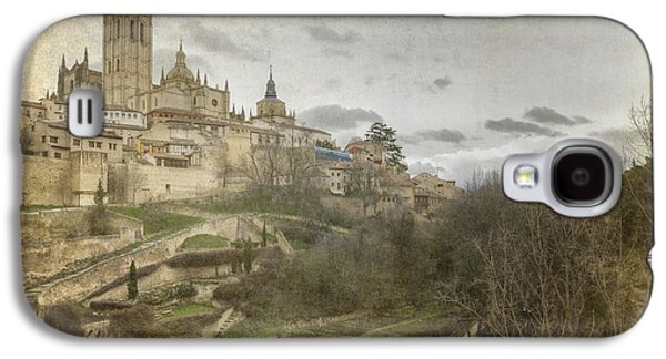 Ancient Galaxy S4 Cases - Segovia View Galaxy S4 Case by Joan Carroll