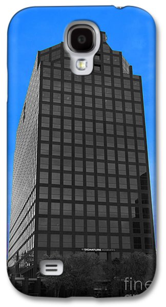 Architectur Galaxy S4 Cases - Selective Color Hi Rise Galaxy S4 Case by Bill Woodstock