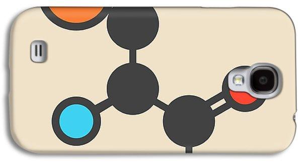 Selenocysteine Amino Acid Molecule Galaxy S4 Case by Molekuul