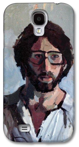 Inner Self Galaxy S4 Cases - Self Portrait 1982 Galaxy S4 Case by David Baruch Wolk