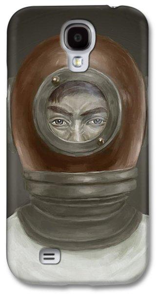 Galaxy S4 Cases - Self Portrait Galaxy S4 Case by Balazs Solti