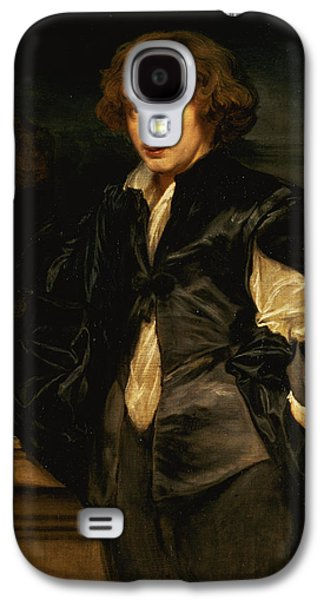 Slash Galaxy S4 Cases - Self Portrait, C.1620-21 Oil On Canvas Galaxy S4 Case by Sir Anthony van Dyck