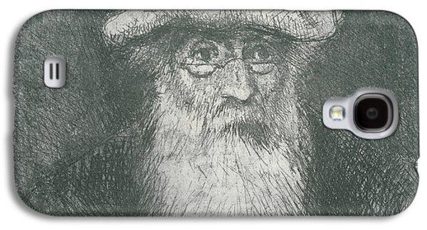Self Portrait Galaxy S4 Cases - Self Portrait  Galaxy S4 Case by Camille Pissarro