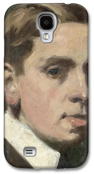 Self Galaxy S4 Cases - Self portrait Galaxy S4 Case by Francis Campbell Boileau Cadell