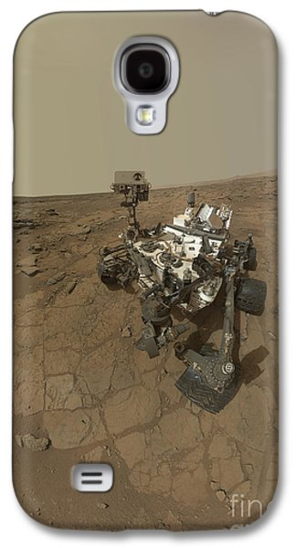 Self Discovery Galaxy S4 Cases - Self-portrait Of Curiosity Rover Galaxy S4 Case by Stocktrek Images