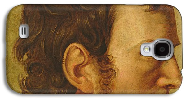 Sideburns Galaxy S4 Cases - Self Portrait Galaxy S4 Case by Philipp Otto Runge